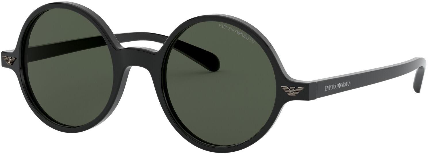 De emporio armani ea501m 500171 47 is een stijlvolle zonnebril, gemaakt van acetaat en uitgevoerd in de kleur ...