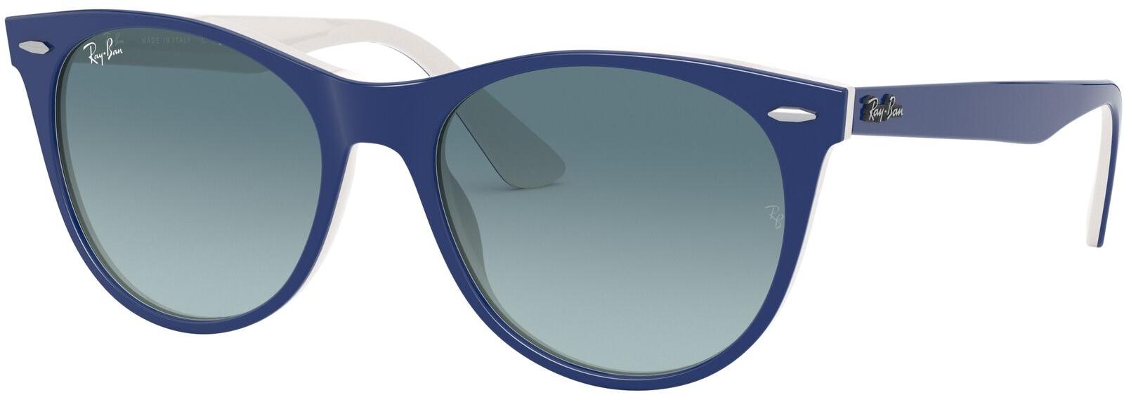 De ray ban wayfarer ii rb2185 12993m 52 is een stijlvolle zonnebril, gemaakt van kunststof en uitgevoerd in ...