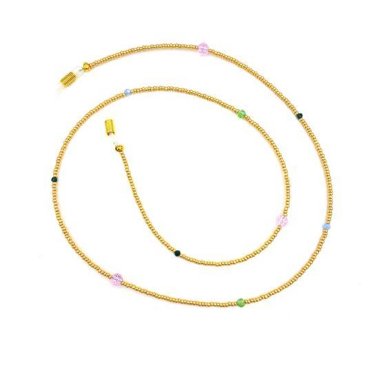 Boho Beach Sunny Necklace - Golden Facet