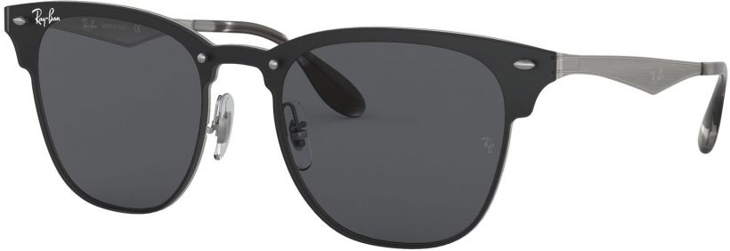 Ray-Ban Blaze Clubmaster Flat Lenses RB3576N-042/87