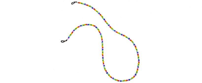 Boho Beach Sunny Necklace - Rainbow
