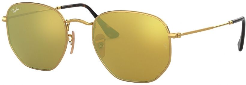 Ray-Ban Hexagonal Flat Lenses RB3548N-001/93