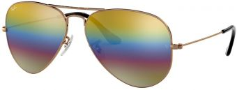 Ray-Ban Aviator Large Metal Mineral Flash Lenses RB3025-9020C4-62