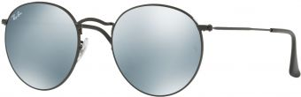 Ray-Ban Round Metal Flash Lenses RB3447-002/30-53