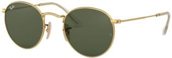 Ray-Ban Round Metal Flat Lenses RB3447N-001-50