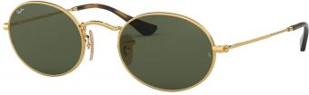 Ray-Ban Oval Flat Lenses RB3547N-001-48