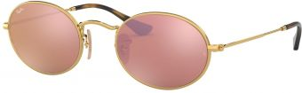 Ray-Ban Oval Flat Lenses RB3547N-001/Z2-51