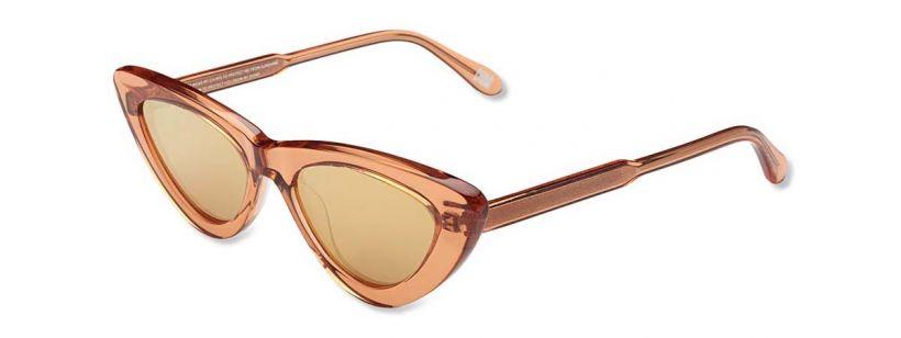 Chimi Eyewear #006-Peach/Mirror