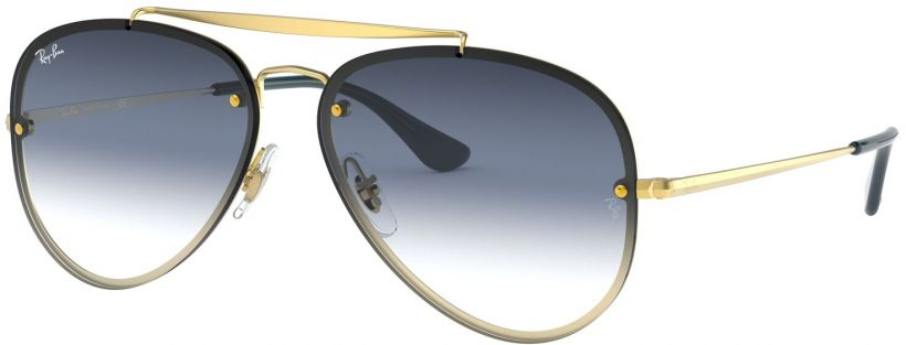 Ray-Ban Blaze Aviator Flat Lenses RB3584N-91400S