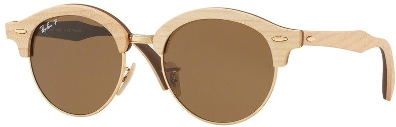 Ray-Ban Clubround Wood RB4246M 117957