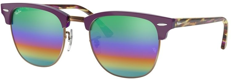 Ray-Ban Clubmaster Mineral Flash Lenses RB3016 1221C3 5121
