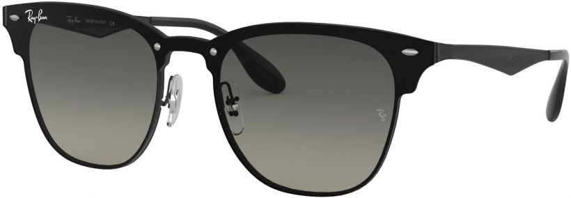Ray-Ban Blaze Clubmaster Flat Lenses RB3576N-153/11