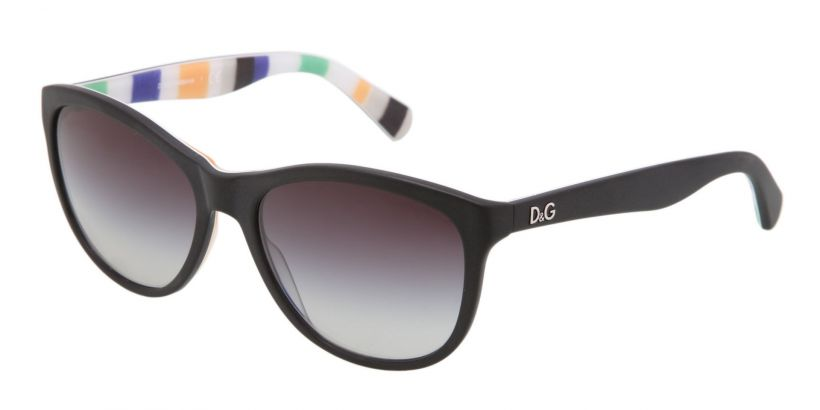 D&G Playful Chique Black / Stripes - Grey Gradient