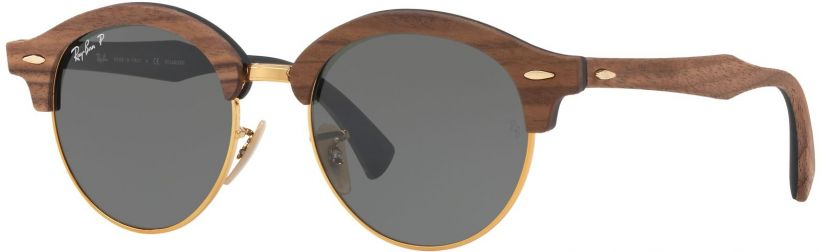Ray-Ban Clubround Wood RB4246M