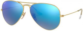 Ray-Ban Aviator Large Metal Flash Lenses RB3025-112/17-58