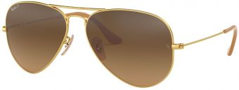 Ray-Ban Aviator Large Metal Gradient RB3025-112/M2-58