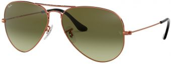 Ray-Ban Aviator Large Metal Gradient RB3025-9002A6