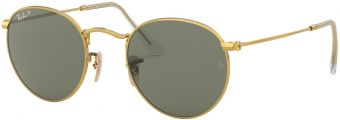 Ray-Ban Round Metal RB3447-001/58-50