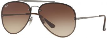 Ray-Ban Blaze Aviator Flat Lenses RB3584N-004/13-58