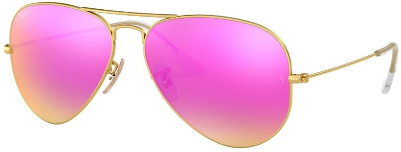 Ray-Ban Aviator Large Metal Flash Lenses RB3025-112/4T