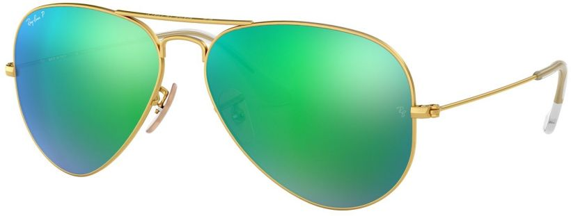 Ray-Ban Aviator Large Metal Flash Lenses RB3025-112/P9
