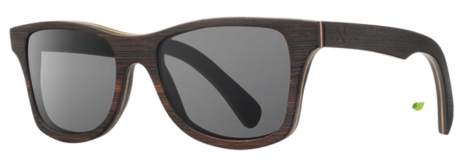 Shwood Canby East Indian Rosewood - Grey Polarized