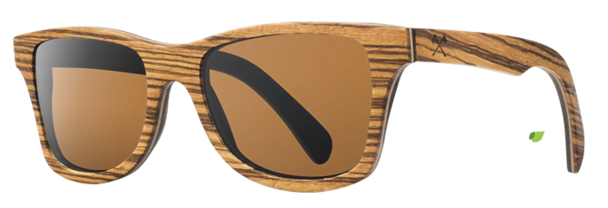 Shwood Canby East Indian Rosewood - Brown Polarized