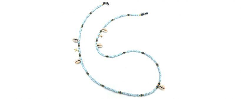 Boho Beach Sunny Necklace - Dainty Stars