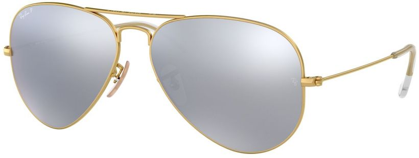 Ray-Ban Aviator Large Metal Flash Lenses RB3025-112/W3