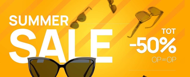 Summer Sale heren zonnebrillen