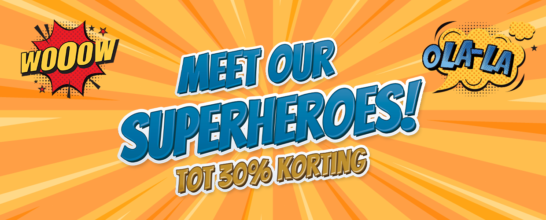 Meet our superheroes zonnebrillen