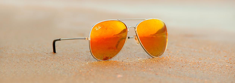 Ray-ban aviator mirror zonnebrillen