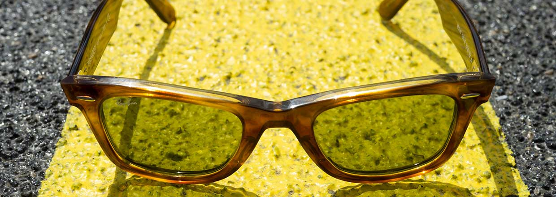 Wayfarer zonnebrillen