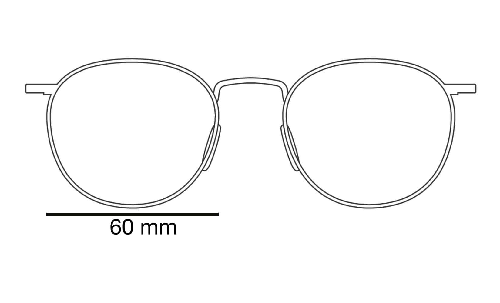 lensbreedte zonnebril