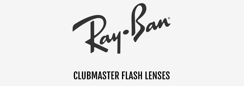 Ray-Ban Clubmaster flash lenses zonnebrillen