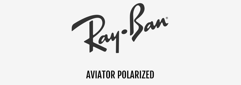 Ray-Ban® Aviator Polarized zonnebrillen