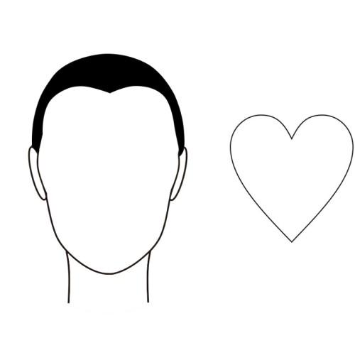 gezichtsvorm hartvormig zonnebril