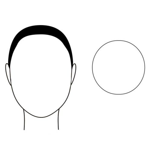 gezichtsvorm rond zonnebril