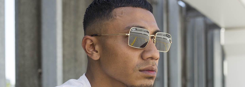 Vierkante zonnebrillen