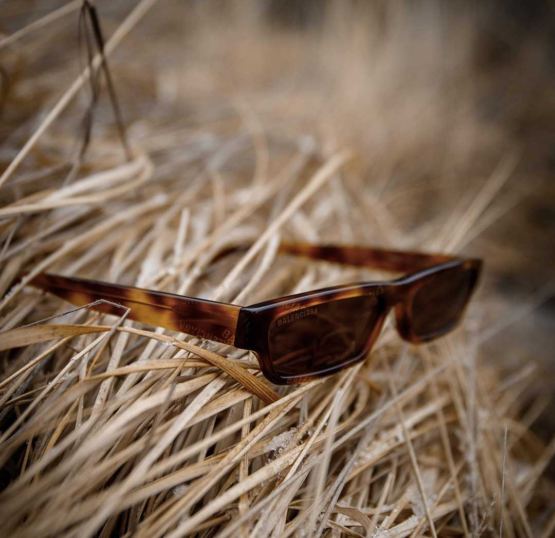 Acetaat montuur zonnebril